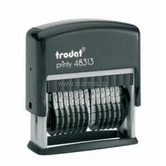 Автоматичен номератор Trodat 48313 с 13 цифри с височина 3.8mm без клише
