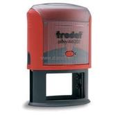 Автоматичен печат елипса Trodat 44055 с размери 55 х 35 мм.