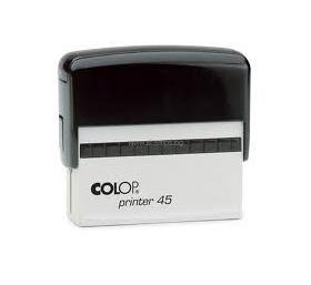 Автоматичен правоъгълен печат с клише Colop Printer 45 с размер на отпечатъка 25x82mm